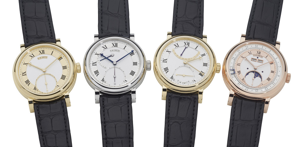 Roger Smith Series I to IV watches