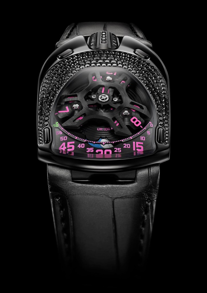 Urwerk - Black Pink Lotus - Watch Insanity 01