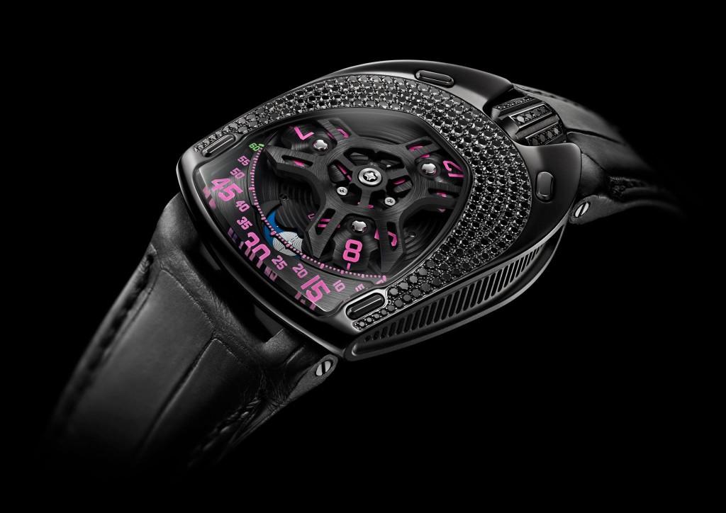 Urwerk - Black Pink Lotus - Watch Insanity 02