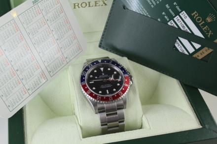 """Rolex: GMT 16710 Caliber 3186 """"Stick Dial"""""""