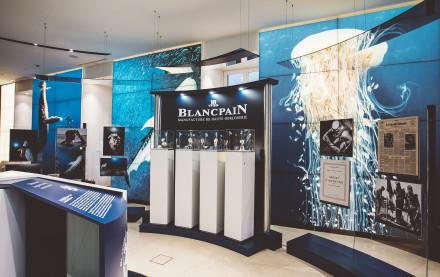Blancpain Ocean Commitment: Exhibition @ Pisa Orologeria   5-15 October 2016