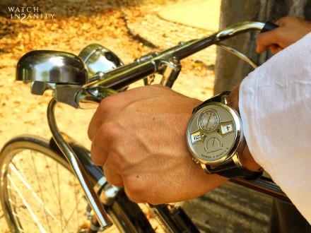 A. Lange & Söhne: Zeitwerk   On The Wrist