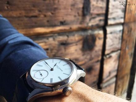 Laurent Ferrier: Galet Classic Tourbillon Double Spiral   On The Wrist