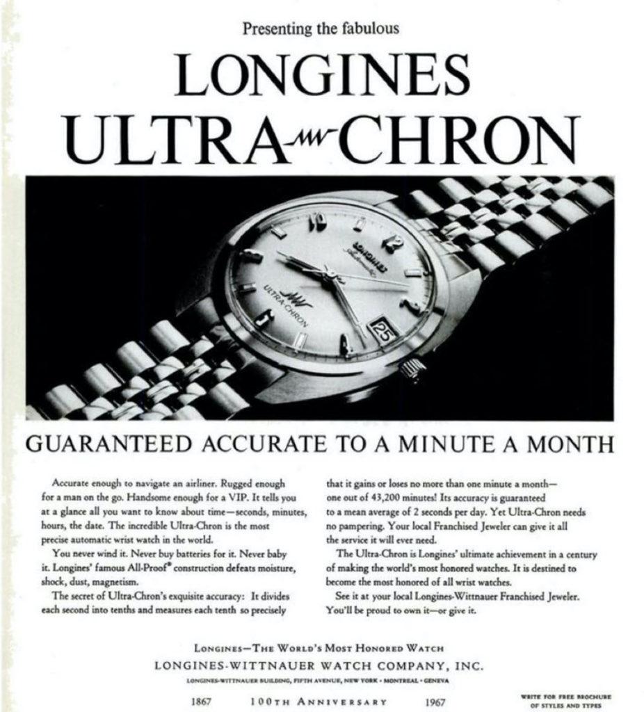 Longines Ultra Chron ADV