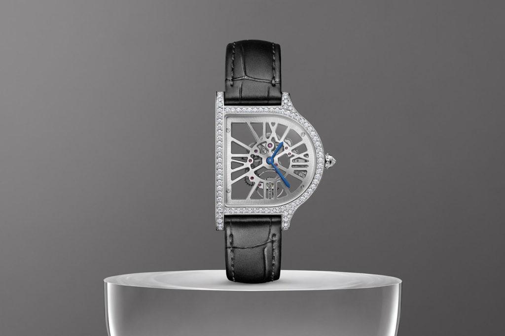 Cloche de Cartier Squelette
