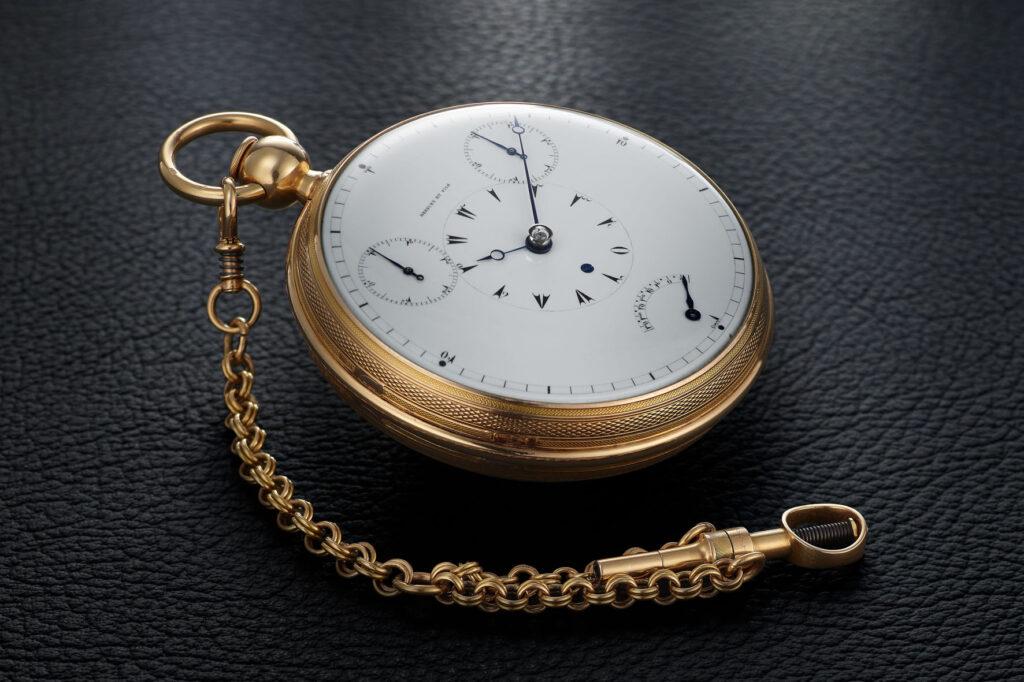 BREGUET B1188 - TOURBILLON TIMEPIECE, NATURAL ESCAPEMENT