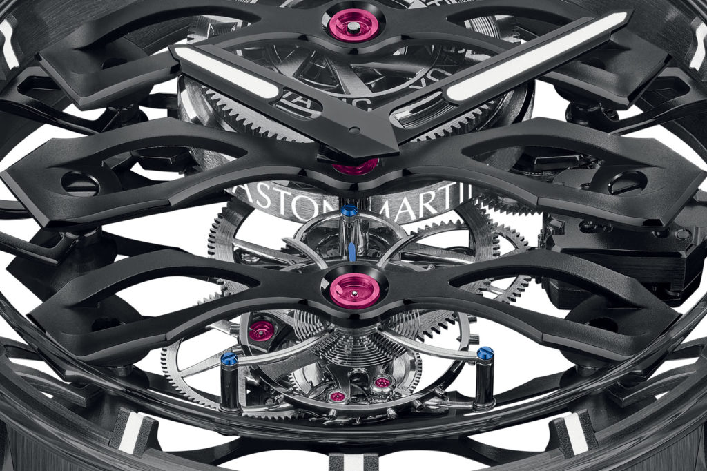 Girard-Perregaux Tourbillon With Three Flying Bridges – Aston Martin Edition