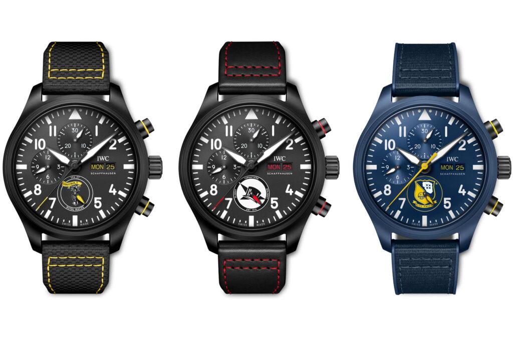 IWC Pilot's Watch Chronograph U.S. Navy Squadrons