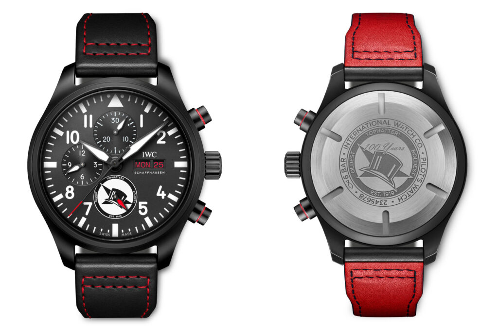 """IWC PILOT'S WATCH CHRONOGRAPH EDITION """"TOPHATTERS"""""""